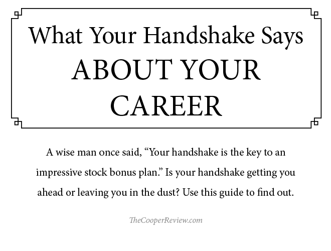 What Your Handshake Says