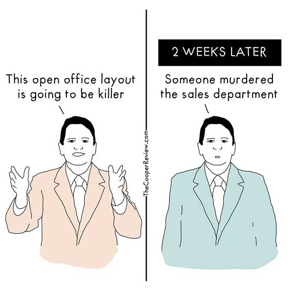 Open office nightmare