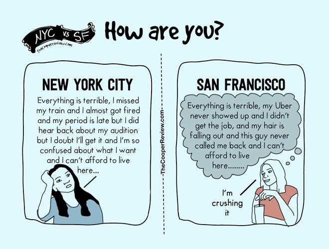 Dating in new york vs san francisco