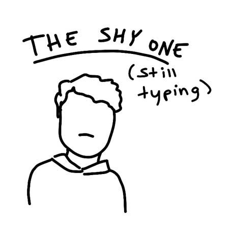 The Shy One - Coworkers You Hate on Slack